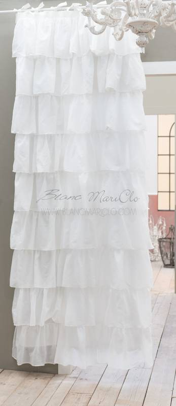 Blanc Mariclo Tenda Fru Fru Bianca