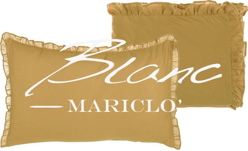 Lenzuola Matrimoniali Firmate.Blanc Mariclo Completo Lenzuola Matrimoniali Serie Volant Colore