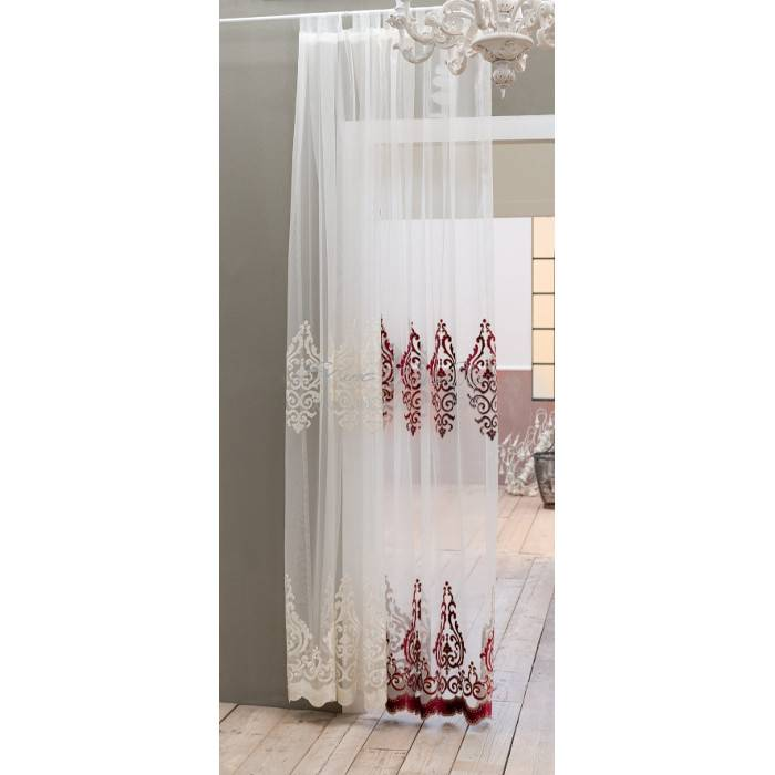 Blanc Mariclò Tenda Shabby Chic Barocco Collection colore Panna