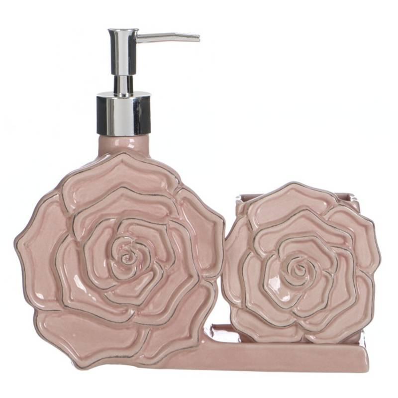 Accessori Bagno Blanc Mariclo.Blanc Mariclo Accessori Bagno Shabby Chic Serie Shabby Rose