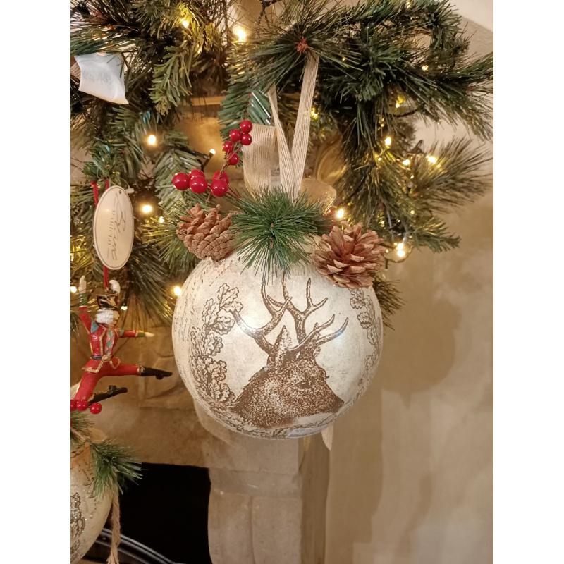Decorazioni per la casa Palline di Natale in plastica Colorate per Decorazione di Natale Diametro 3 cm Mortimer Lamb Palline di Natale