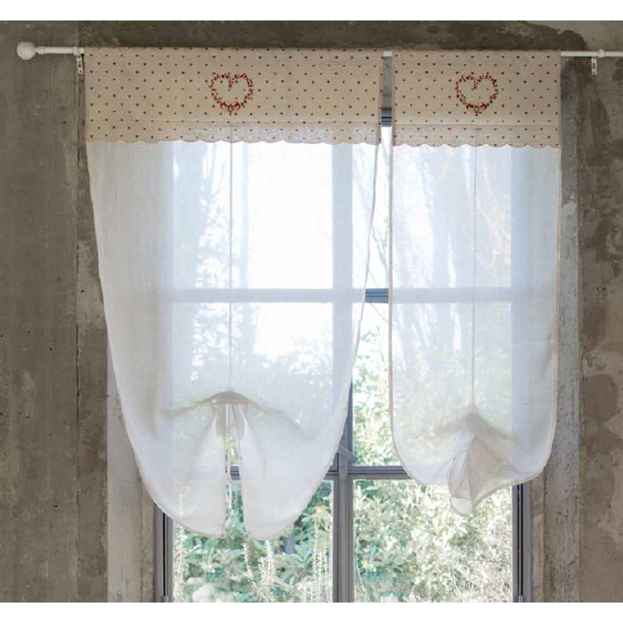Blanc Mariclo | Tende Shabby Chic | Tenda Beatrice Collection ...