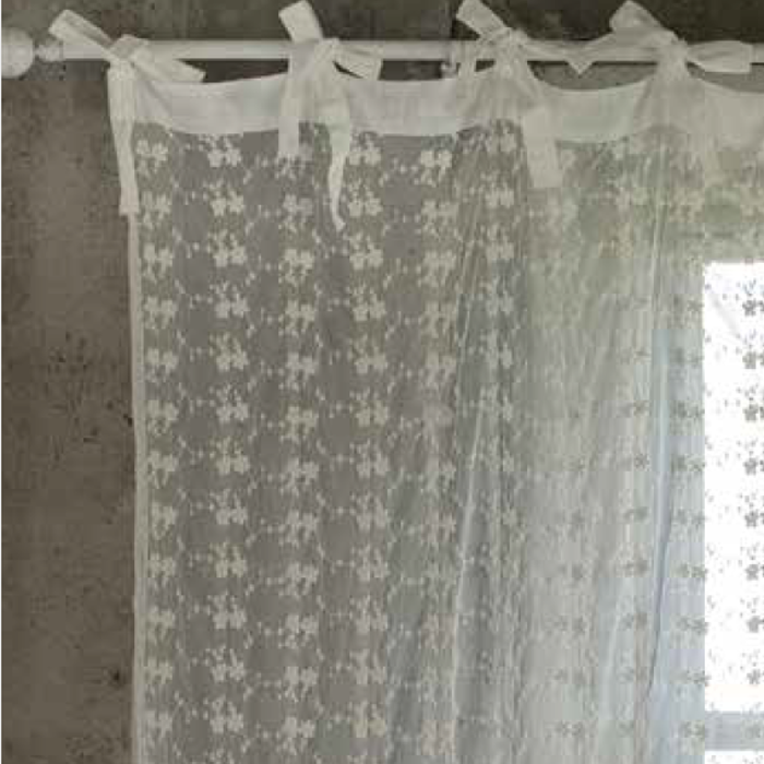 Blanc Mariclò Tenda Shabby Chic Crema Collection