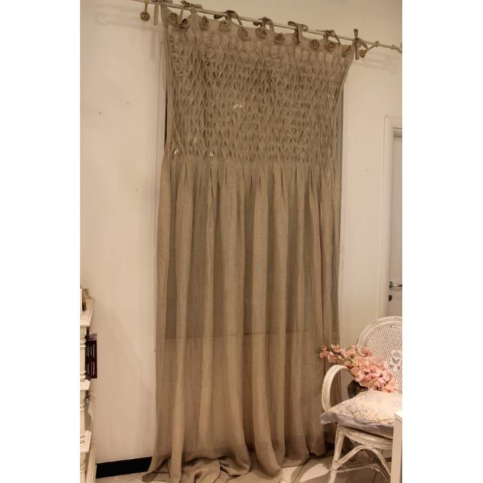 Blanc Mariclo Tenda Shabby Chic Decoro Rose