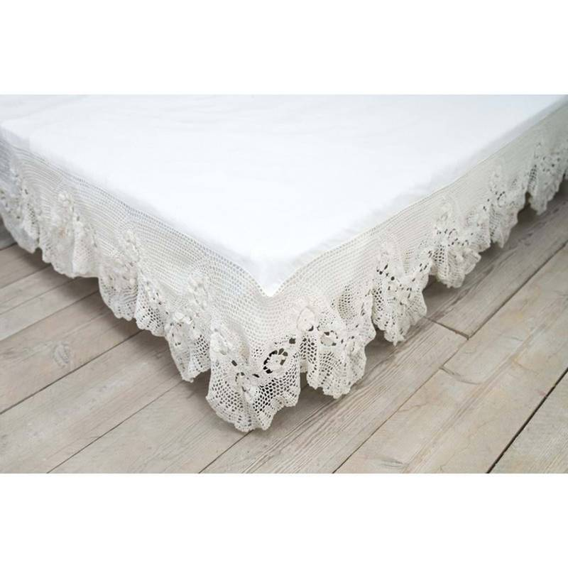 Blanc Mariclò | Serie Crochet | Vestiletto Matrimoniale
